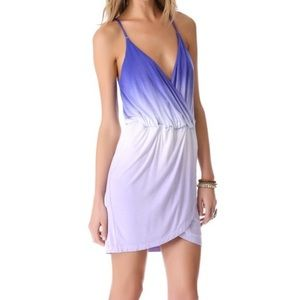 Young fabulous broke purple ombré mini dress